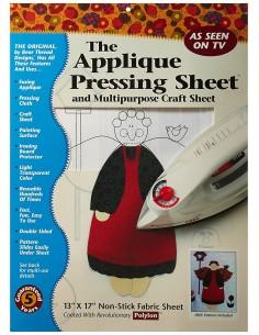 The appliqué pressing sheet